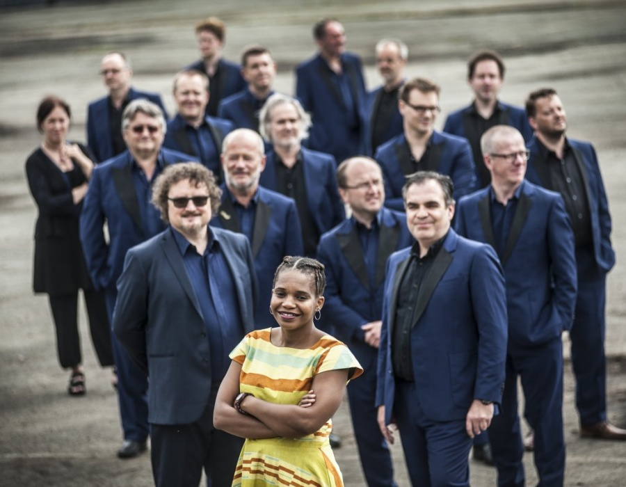 Brussels Jazz Orchestra & Tutu Puoane: 'We have a dream'